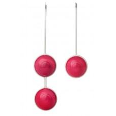 Красные вагинальные шарики Z Beads-Ruby в силиконовых корпусах