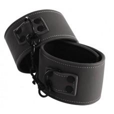 Черные наручники Wrist Cuff