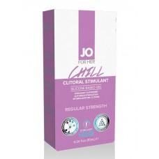 Возбуждающий гель мягкого действия JO CLITORAL CHILL - 10 мл.